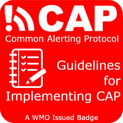 CAP Guidelines badge