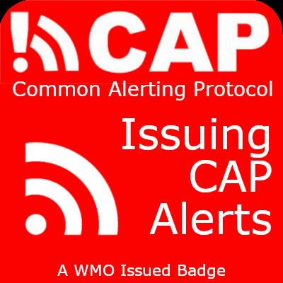 CAP Issuing badge
