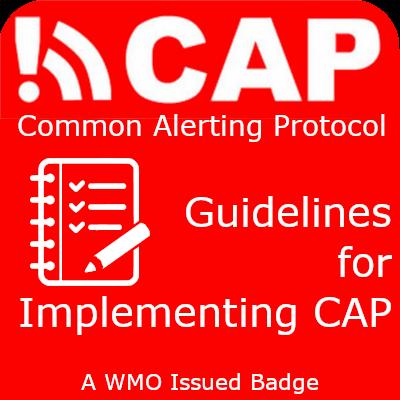CAp Guidelines badge